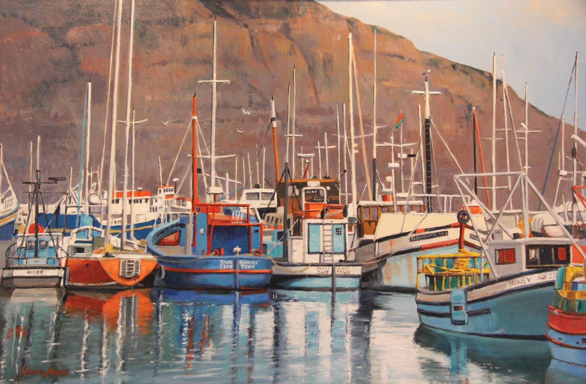 'Trawlers at Hout Bay'