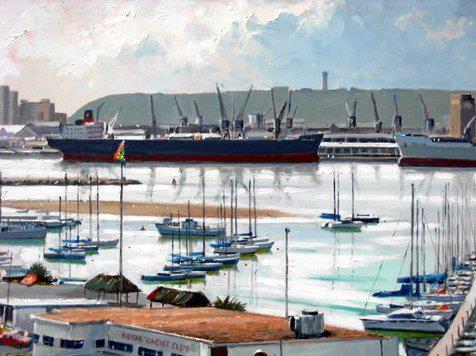 John Smith Art - Durban Bay