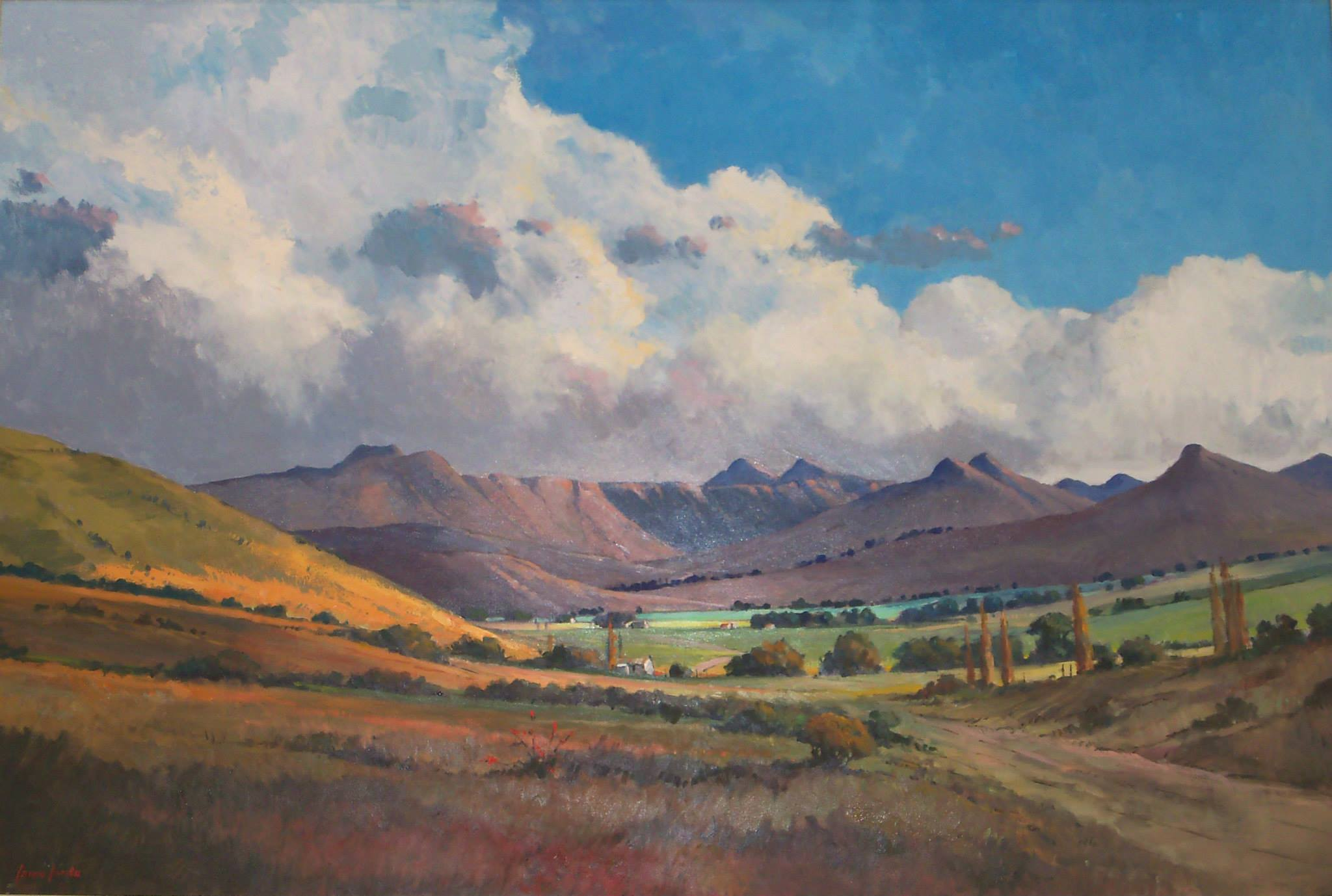 'Approach to Clarens - Free State'